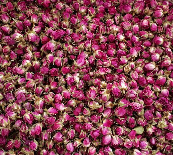 قیمت غنچه گل محمدی در مشهد