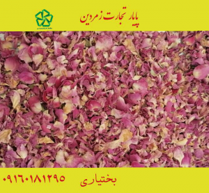 پر گل محمدی مربایی